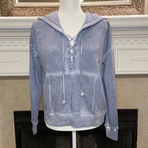 American Eagle Lace Up Hoodie